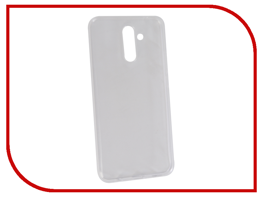 Аксессуар Чехол для Huawei Mate 20 Lite Neypo Silicon Transparent NST5810 аксессуар чехол для huawei mate 20 lite neypo premium red nsb5893
