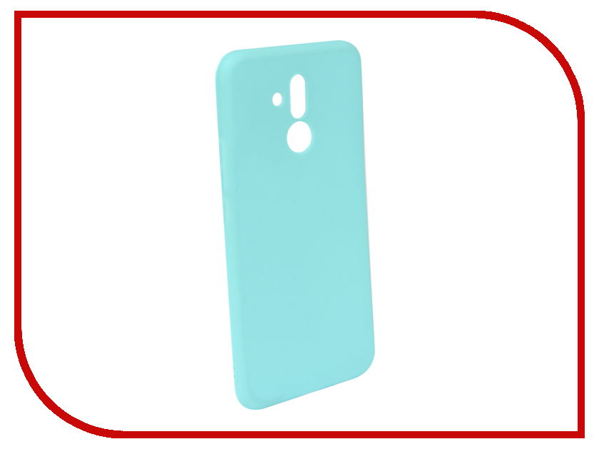 Аксессуар Чехол для Huawei Mate 20 Lite Neypo Soft Matte Turquoise NST5837 аксессуар чехол для huawei mate 20 lite neypo premium bordo nsb6346
