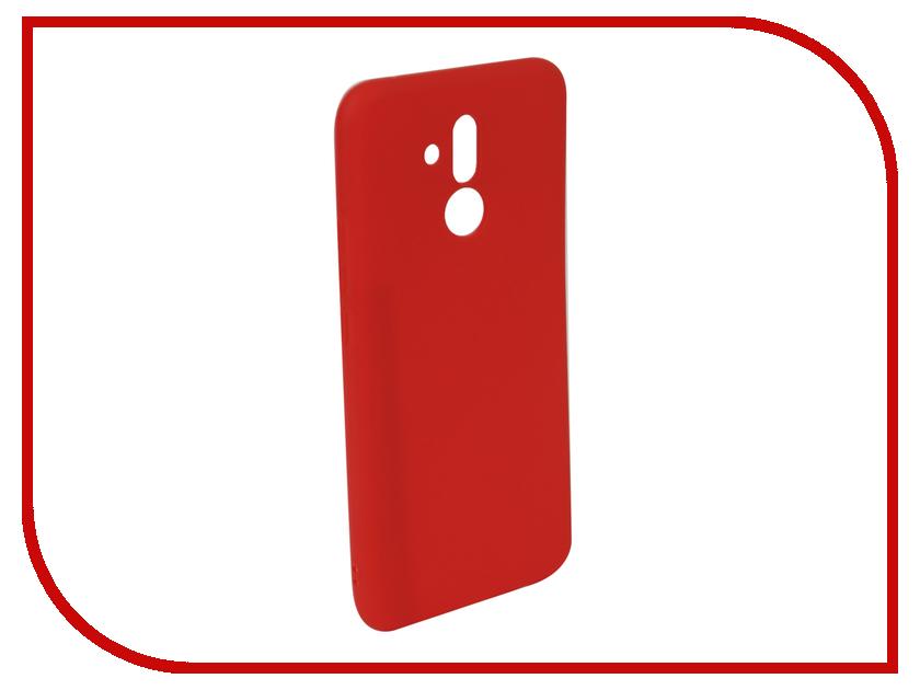 Аксессуар Чехол для Huawei Mate 20 Lite Neypo Soft Matte Red NST5838 аксессуар чехол для huawei mate 20 lite neypo premium bordo nsb6346