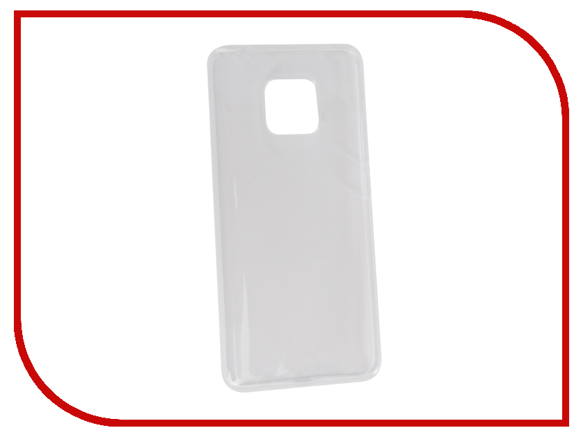 Аксессуар Чехол для Huawei Mate 20 Pro Neypo Silicon Transparent NST5926 аксессуар чехол для huawei mate 20 lite neypo premium bordo nsb6346