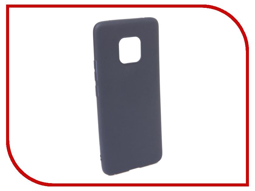 Аксессуар Чехол для Huawei Mate 20 PRO Neypo Soft Matte Dark Blue NST5976 аксессуар чехол для huawei mate 20 lite neypo premium bordo nsb6346