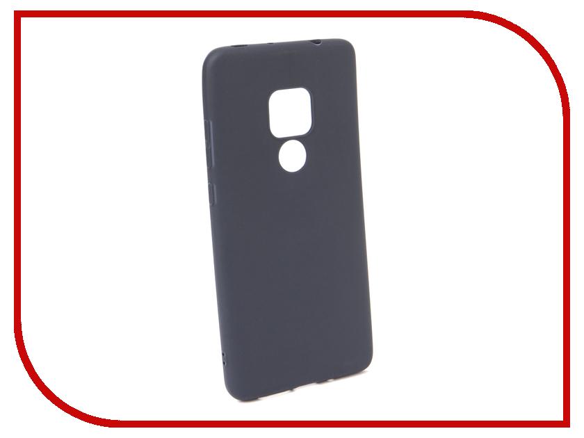 Аксессуар Чехол для Huawei Mate 20 Neypo Soft Matte Dark Blue NST5971 аксессуар чехол для huawei honor 7a pro neypo soft matte dark blue nst4716
