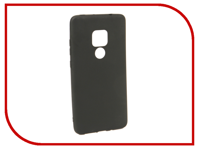 Аксессуар Чехол для Huawei Mate 20 Neypo Soft Matte Black NST5972 аксессуар чехол для huawei mate 20 lite neypo premium bordo nsb6346