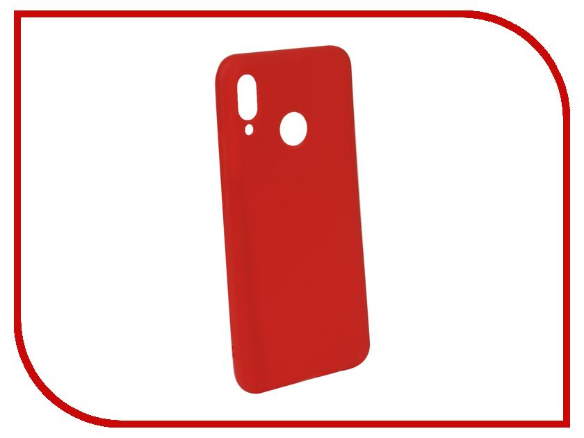 Аксессуар Чехол для Huawei Nova 3 Neypo Soft Matte Red NST5717