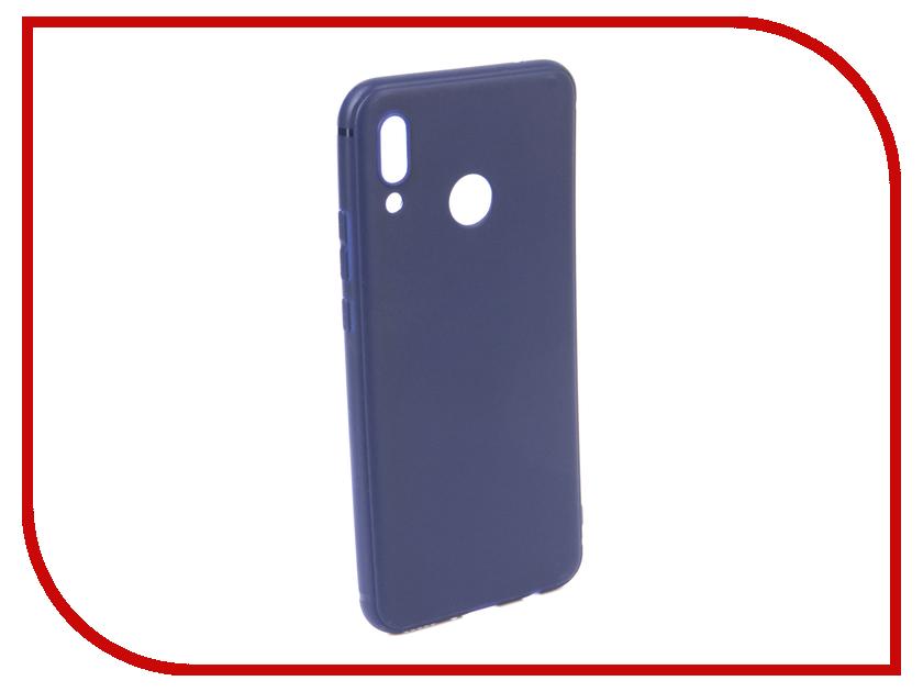 Аксессуар Чехол для Huawei Nova 3 Neypo Soft Matte Dark Blue NST5715