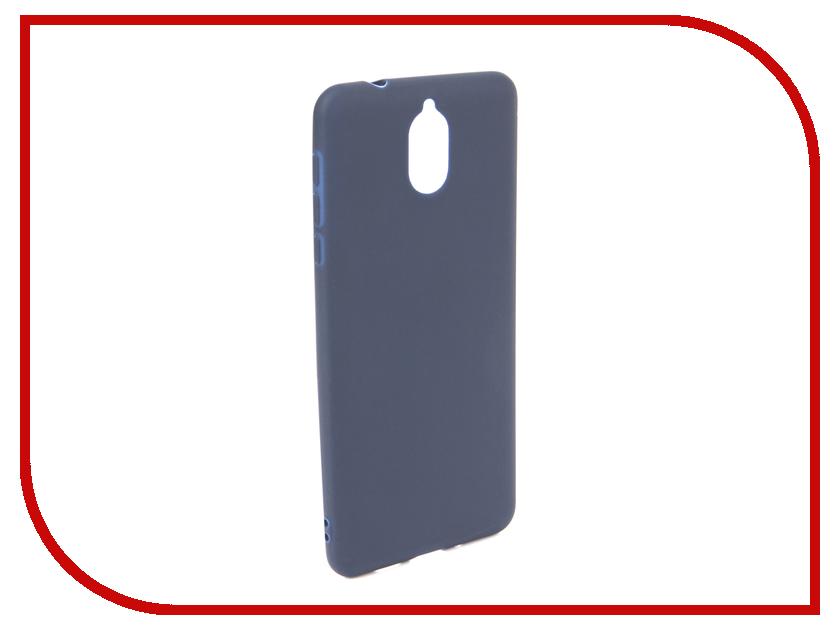 Аксессуар Чехол для NOKIA 3.1 2018 Neypo Soft Matte Dark Blue NST6122 аксессуар чехол для nokia 6 2018 neypo soft matte silicone dark blue nst4300