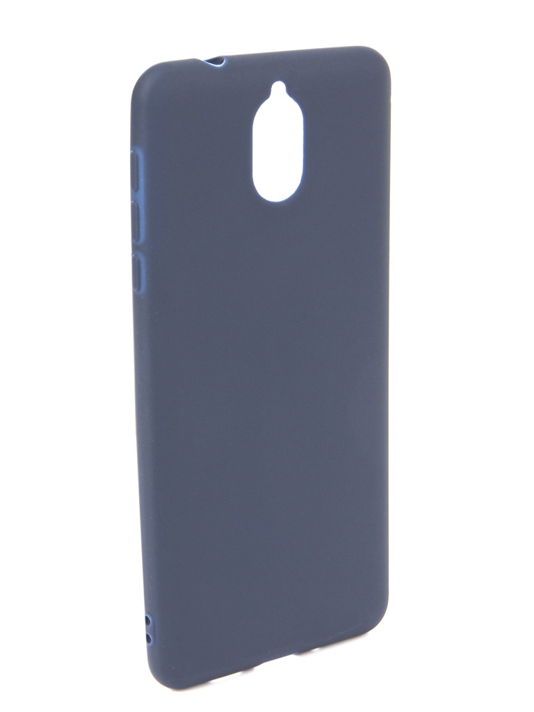 Чехол Neypo для Nokia 3.1 2018 Soft Matte Dark Blue NST6122