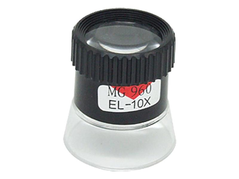 Лупа часовая Kromatech MG13098 10x контактная 23149b057 контейнер для хранения idea прямоугольный цвет салатовый прозрачный 8 5 л