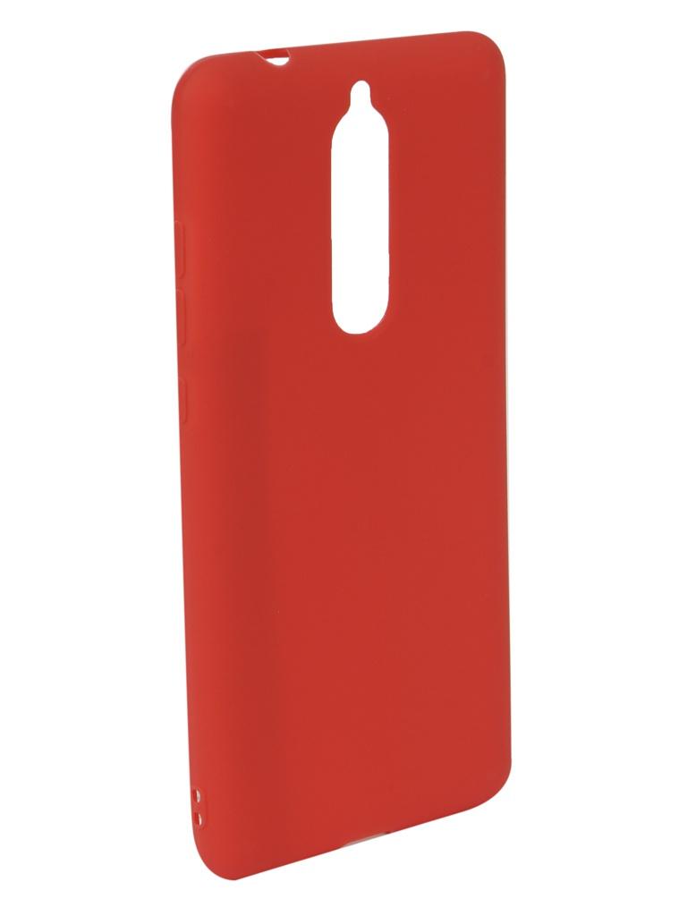 Аксессуар Чехол Neypo для Nokia 5.1 2018 Soft Matte Red NST6128