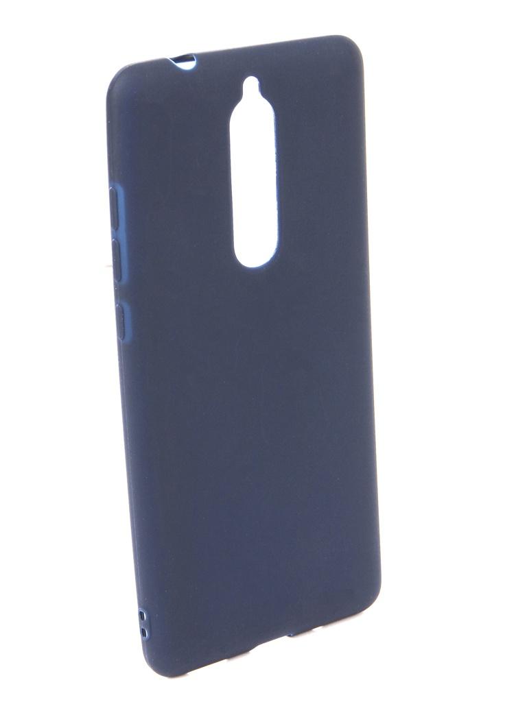 Аксессуар Чехол Neypo для Nokia 5.1 2018 Soft Mate Dark Blue NST6129 аксессуар чехол neypo для nokia 6 1 plus x6 2018 soft matte dark blue nst6132