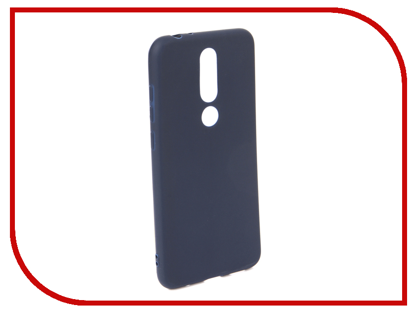 Аксессуар Чехол для NOKIA 5.1 Plus X5 2018 Neypo Soft Matte Dark Blue NST6125 аксессуар чехол для samsung galaxy a6 plus 2018 neypo soft matte dark blue nst4633
