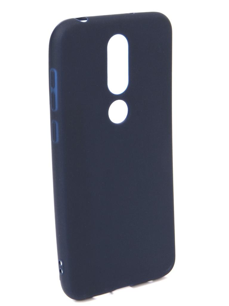 Аксессуар Чехол Neypo для Nokia 6.1 Plus X6 2018 Soft Matte Dark Blue NST6132 аксессуар чехол neypo для nokia 6 1 plus x6 2018 soft matte dark blue nst6132