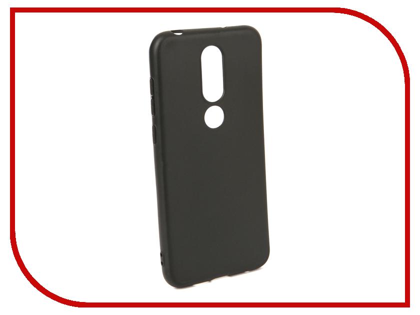 Аксессуар Чехол для NOKIA 6.1 Plus X6 2018 Neypo Soft Matte Black NST6025