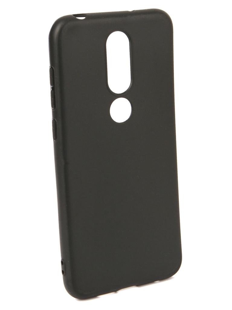 Аксессуар Чехол Neypo для Nokia 6.1 Plus X6 2018 Soft Matte Black NST6025 аксессуар чехол neypo для nokia 6 1 plus x6 2018 soft matte dark blue nst6132
