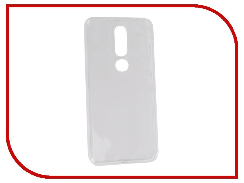 Аксессуар Чехол для NOKIA 6.1 Plus Neypo Silicon Transparent NST6135 аксессуар чехол для nokia 7 plus gecko transparent white s g nok7plus wh