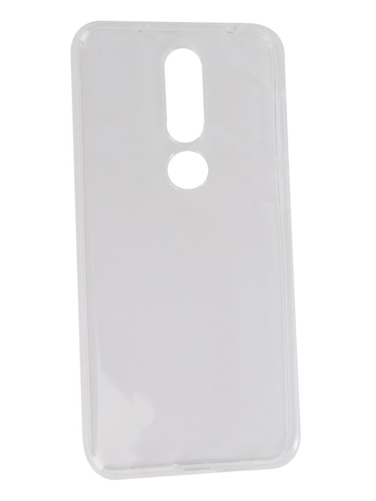 Аксессуар Чехол Neypo для Nokia 6.1 Plus Silicon Transparent NST6135