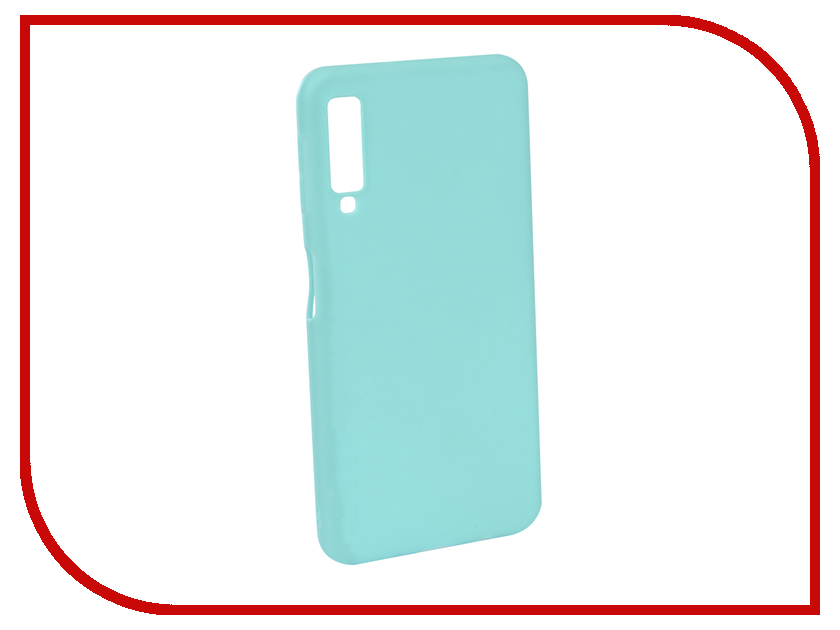 Аксессуар Чехол для Samsung Galaxy A7 2018 Neypo Soft Matte Turquoise NST5977