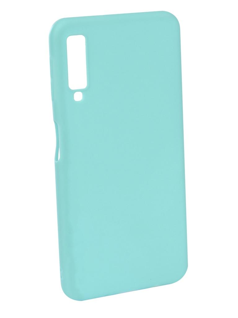 Аксессуар Чехол Neypo для Samsung Galaxy A7 2018 Soft Matte Turquoise NST5977 аксессуар чехол для samsung j4 plus 2018 neypo soft matte dark blue nst5983