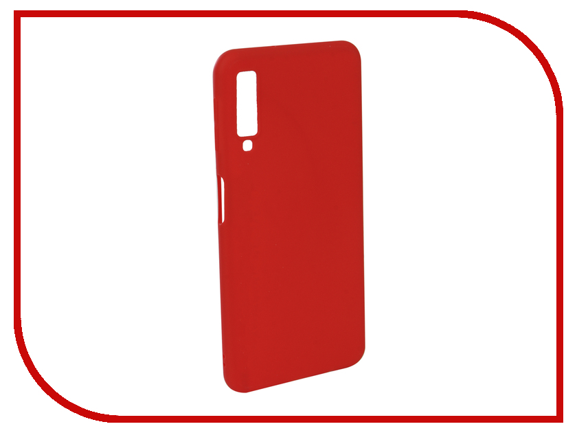 Аксессуар Чехол для Samsung Galaxy A7 2018 Neypo Soft Matte Red NST5978