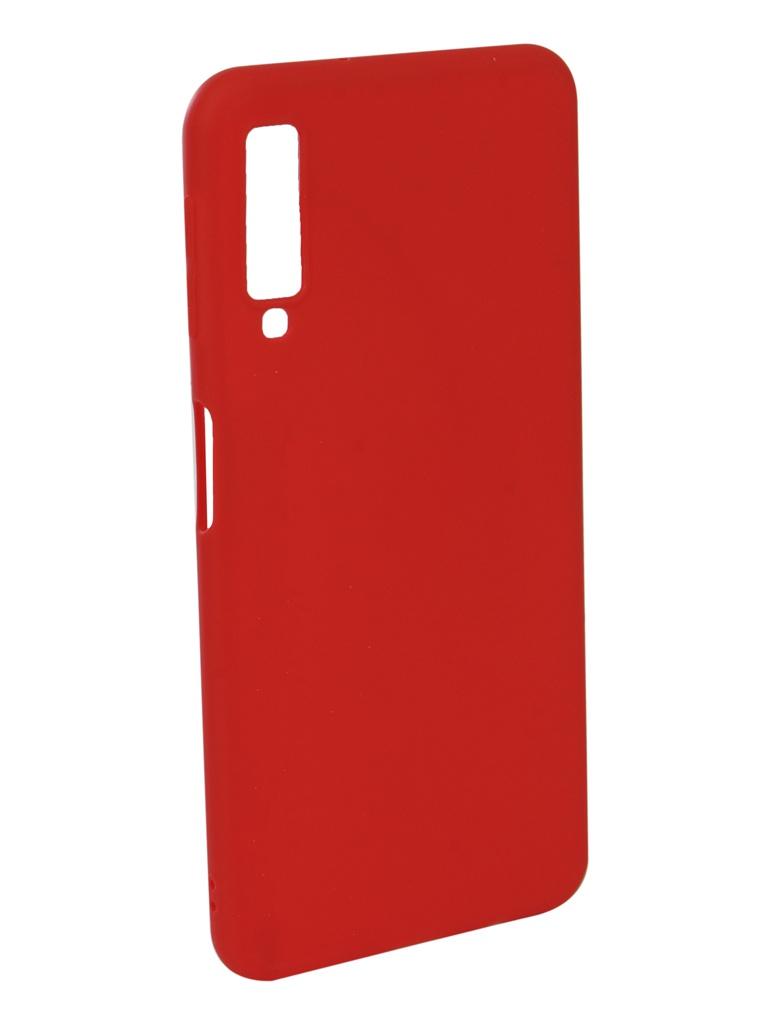 Аксессуар Чехол Neypo для Samsung Galaxy A7 2018 Soft Matte Red NST5978 аксессуар чехол для samsung galaxy a6 plus 2018 neypo soft matte red nst4632