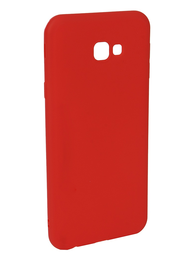 Аксессуар Чехол Neypo для Samsung J4 Plus 2018 Soft Matte Red NST5982 аксессуар чехол для samsung galaxy a6 plus 2018 neypo soft matte red nst4632