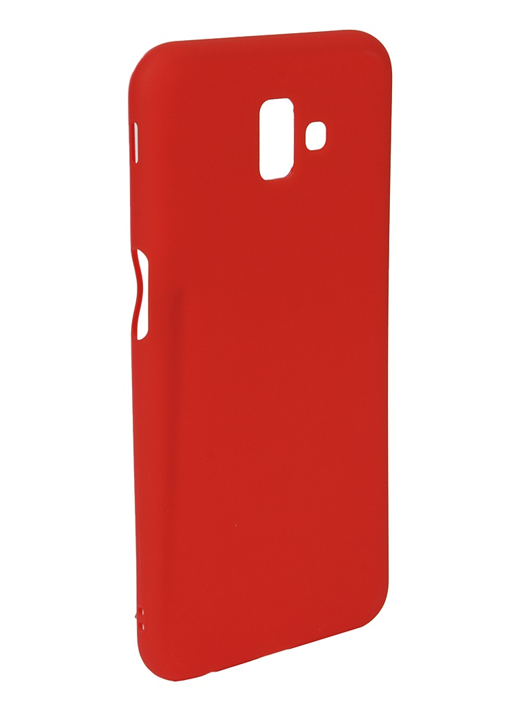 Аксессуар Чехол Neypo для Samsung J6 Plus 2018 Soft Matte Red NST5842 аксессуар чехол для samsung galaxy a6 plus 2018 neypo soft matte red nst4632