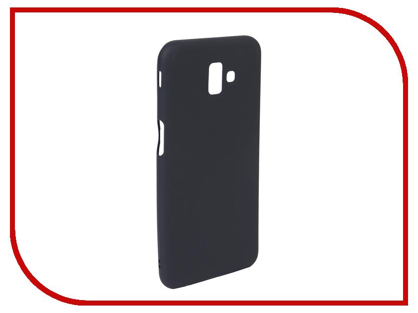Аксессуар Чехол для Samsung J6 Plus 2018 Neypo Soft Matte Dark Blue NST5843 аксессуар чехол для samsung galaxy a6 plus 2018 neypo soft matte dark blue nst4633