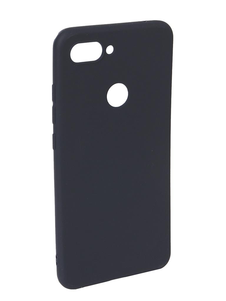 Аксессуар Чехол Neypo для Xiaomi Mi8 Lite Soft Matte Dark Blue NST6437 аксессуар чехол neypo для xiaomi redmi 7 dark blue nbc12822
