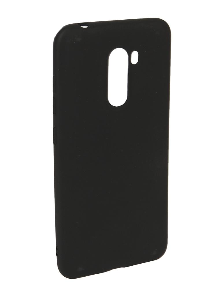 Аксессуар Чехол Neypo для Xiaomi Pocophone F1 Soft Matte Black NST5845 аксессуар чехол для xiaomi mi a1 neypo soft touch black st3324