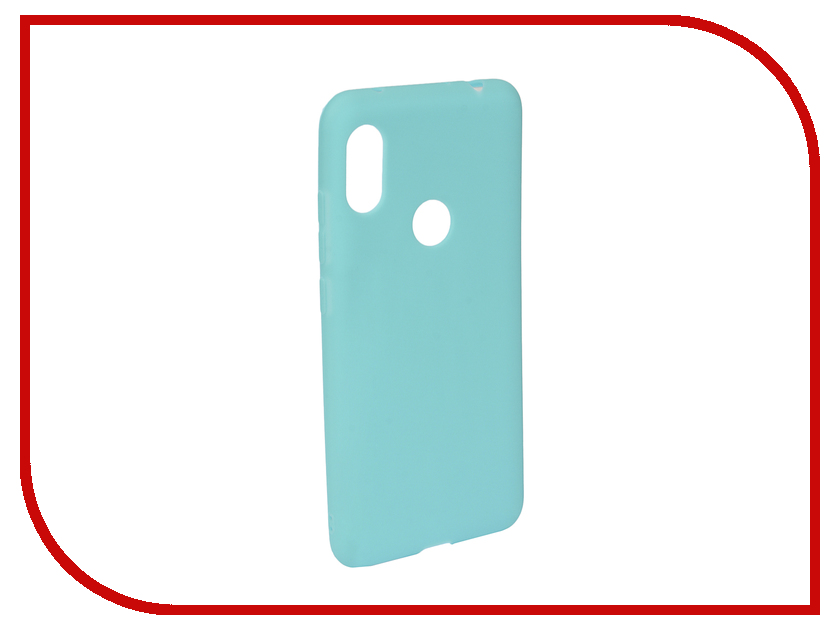 Аксессуар Чехол для Xiaomi Redmi Note 6/6 Pro Neypo Soft Matte Turquoise NST6056 аксессуар чехол для xiaomi redmi note 5a 32gb neypo soft touch gold st3782