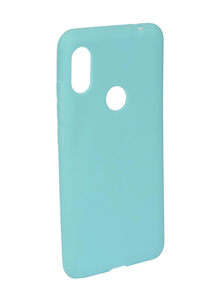 Аксессуар Чехол Neypo для Xiaomi Redmi Note 6/6 Pro Soft Matte Turquoise NST6056