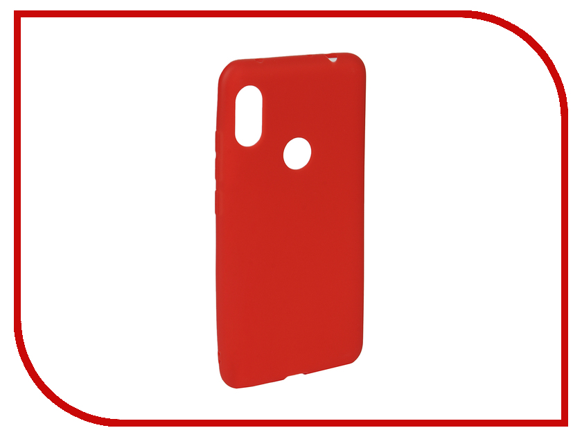 Аксессуар Чехол для Xiaomi Redmi Note 6/6 Pro Neypo Soft Matte Red NST6055 аксессуар чехол для xiaomi redmi note 5a 32gb neypo soft touch gold st3782