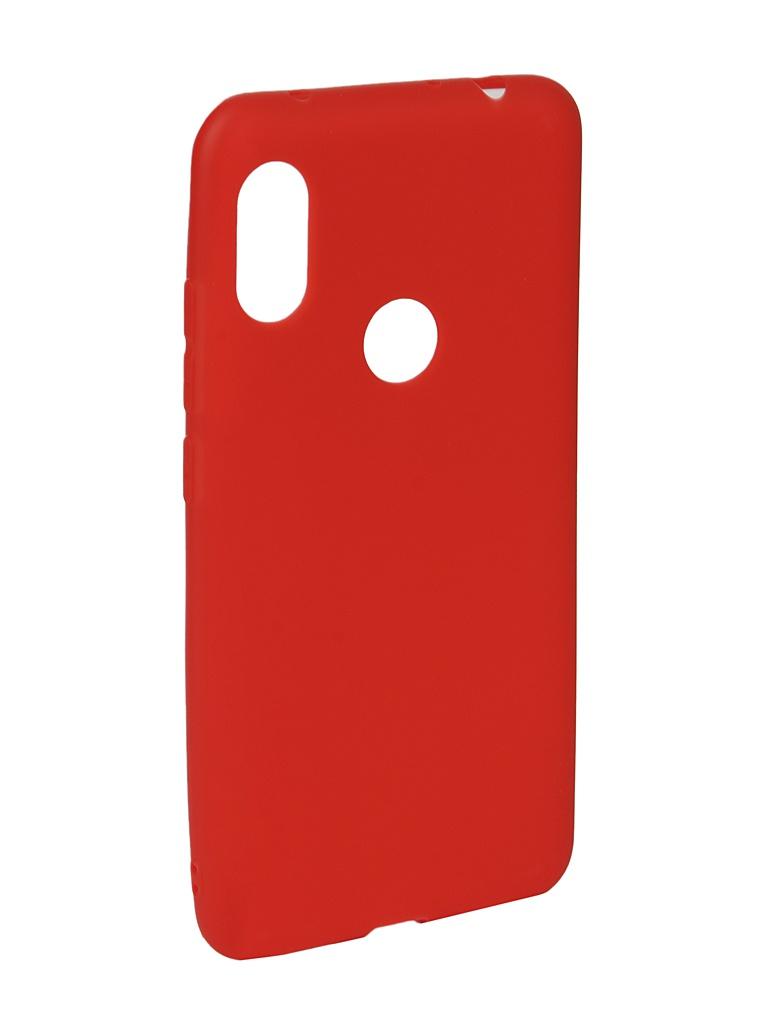 Аксессуар Чехол Neypo для Xiaomi Redmi Note 6/6 Pro Soft Matte Red NST6055