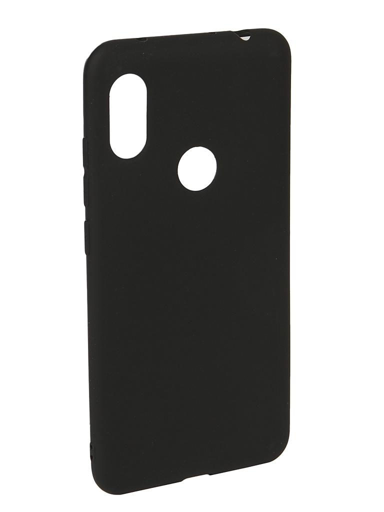 Аксессуар Чехол Neypo для Xiaomi Redmi Note 6/6 Pro Soft Matte Black NST5950