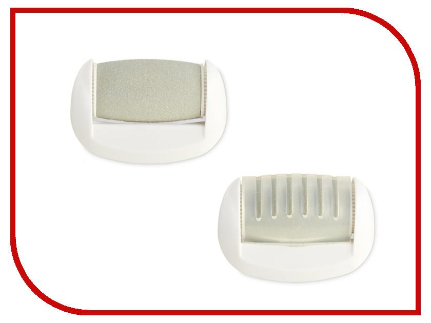 Электрическая пилка Wellneo 2шт 106153016 Сменные насадки для Шелковистые пяточки сменные насадки black decker fsmp20 для паровой швабры 2шт