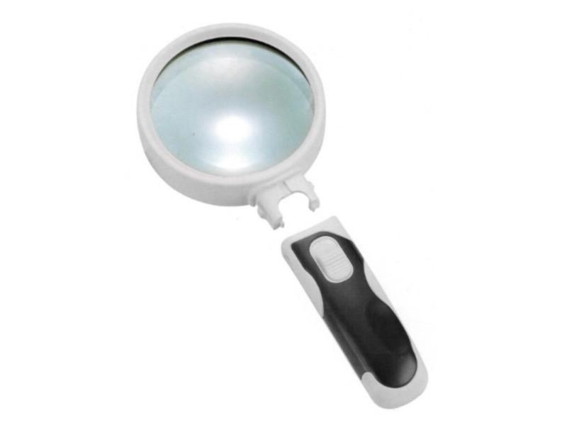 Фото - Лупа Kromatech 77337B 16x с подсветкой 2 LED 23149bw153 лупа kromatech yt80761 10х 50mm 23149y191