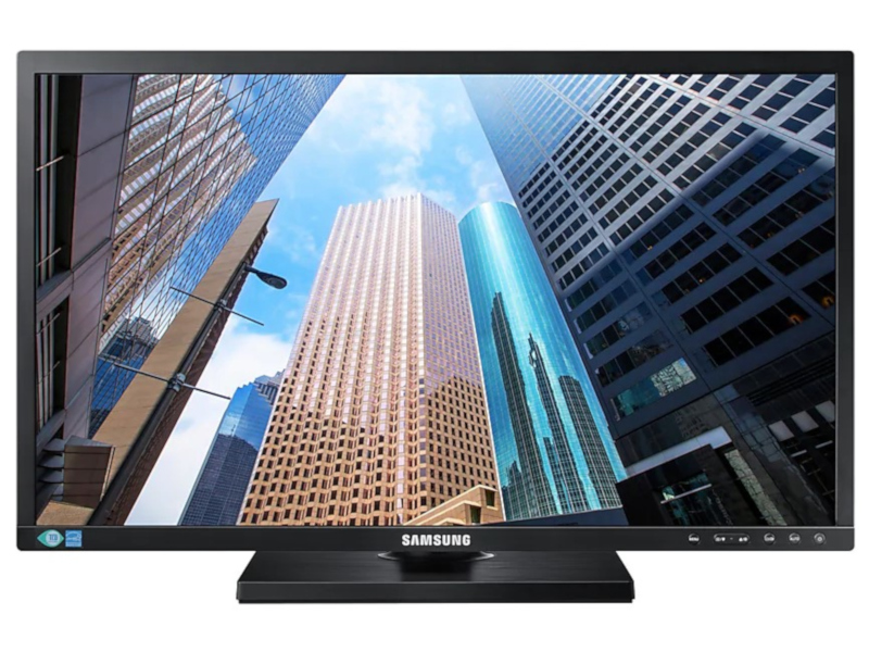 Монитор Samsung S24E650PL Black монитор samsung c27h800fci black silver
