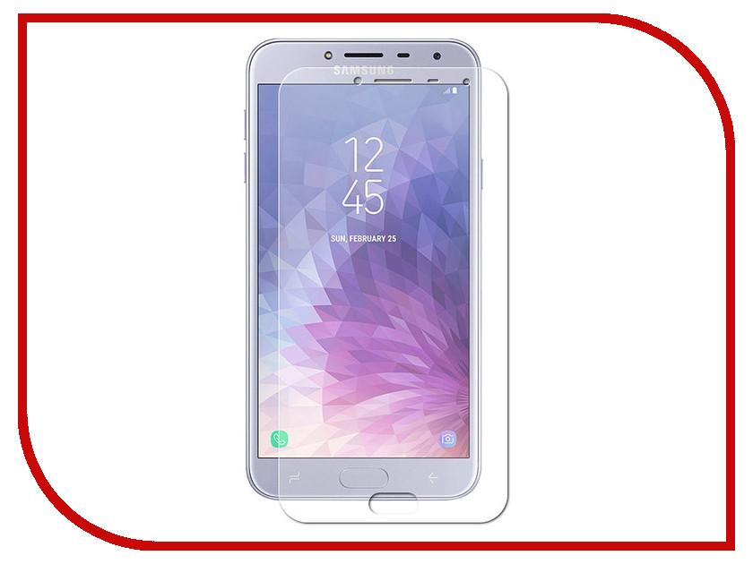 Аксессуар Защитная пленка для Samsung Galaxy J4 2018 Red Line УТ000017040 цена и фото