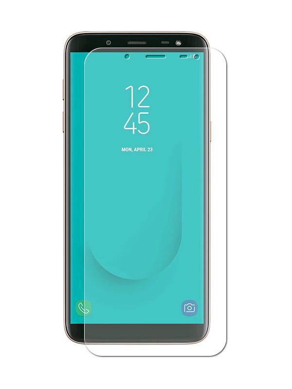 Аксессуар Защитная пленка Red Line для Samsung Galaxy J6 2018 УТ000017041 аксессуар гибридная защитная пленка для samsung galaxy j8 2018 red line ут000015487