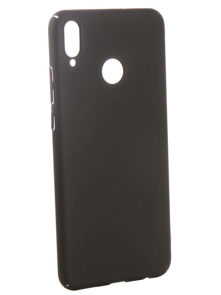 Аксессуар Чехол iBox для Honor 8X Soft Touch Fresh Black УТ000016887 аксессуар чехол honor 7c pro ibox soft touch fresh blue ут000017256