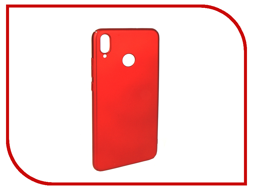 Аксессуар Чехол для Huawei Honor 8X iBox Soft Touch Fresh Red УТ000016888 стоимость