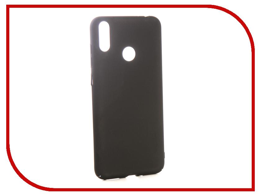Чехол для Honor 8C iBox Soft Touch Fresh Black УТ000016890 чехол книжка ibox premium для alcatel one touch pop d5 черный