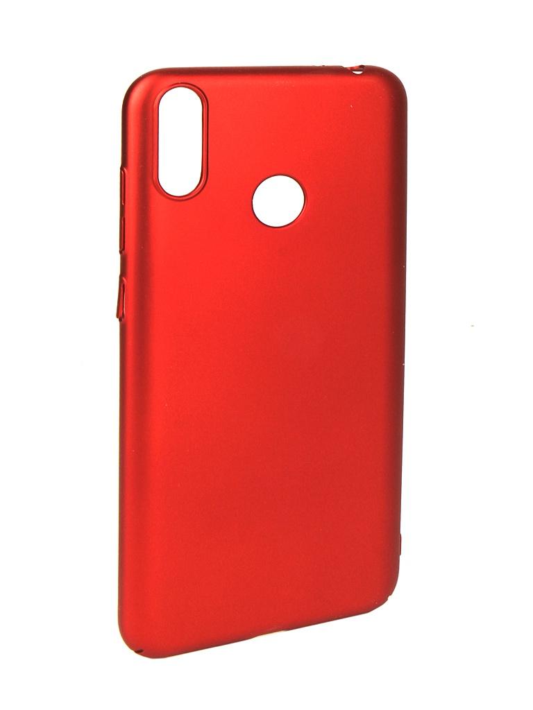 Аксессуар Чехол iBox для Honor 8C Soft Touch Fresh Red УТ000016891 аксессуар чехол honor 7c pro ibox soft touch fresh blue ут000017256