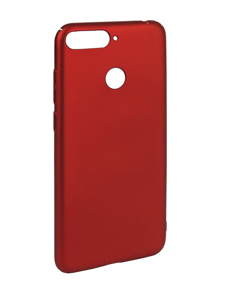 Аксессуар Чехол iBox для Huawei Honor 7A Pro / 7C / Y6 Prime 2018 Soft Touch Fresh Red УТ000016885 аксессуар чехол для honor 8c ibox soft touch fresh red ут000016891