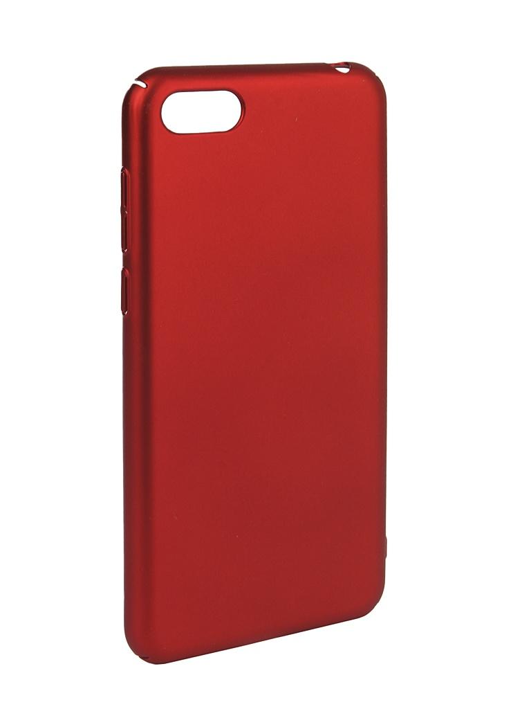 Аксессуар Чехол iBox для Huawei Honor 7A Soft Touch Fresh Red УТ000016882 аксессуар чехол для honor 8c ibox soft touch fresh red ут000016891