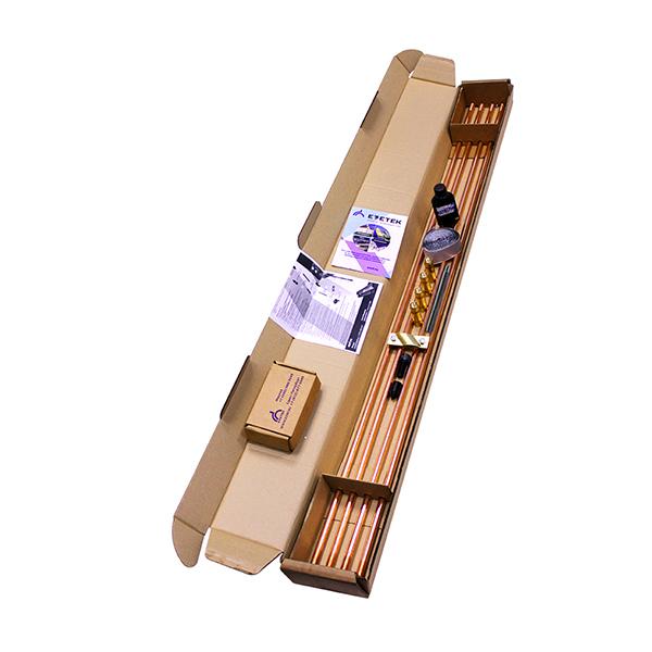 Комплект заземления Ezetek EZ-6 16mm x 1.2m c насадкой SDS-max 60282