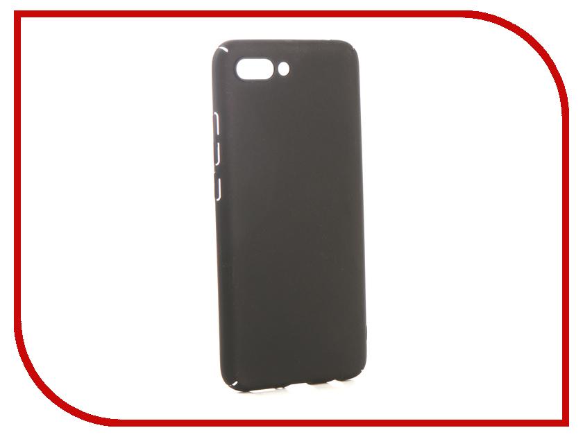 Чехол для Honor 10 / 10 Premium iBox Soft Touch Fresh Black УТ000016878 стоимость