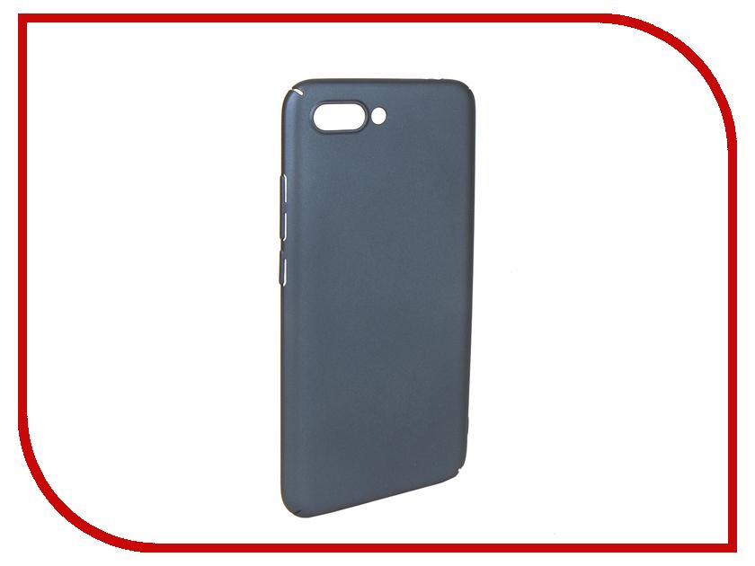 Аксессуар Чехол для Huawei Honor 10 / 10 Premium iBox Soft Touch Fresh Blue УТ000016880 чехол книжка ibox premium для alcatel one touch pop d5 черный