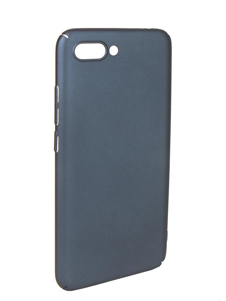 Чехол iBox для Honor 10 / Premium Soft Touch Fresh Blue УТ000016880