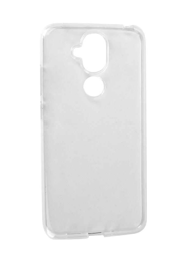 Аксессуар Чехол iBox для Nokia 8.1 Crystal Silicone Transparent УТ000016914 аксессуар чехол для nokia 3 1 ibox crystal silicone transparent